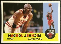 1960 Topps Style Michael Jordan Reprint - MINT - Chicago Bul