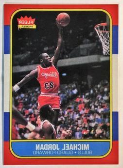 1986-87 FLEER #57 MICHAEL JORDAN ROOKIE REPRINT - MINT -- CH