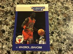 1988 Kenner STARTING LINEUP Michael Jordan Card CHICAGO BULL