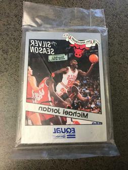 1990-91 Equal Chicago Bulls factory sealed team set Michael