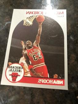 1990-91  MICHAEL JORDAN - Hoops Basketball Card # 65 - Chica