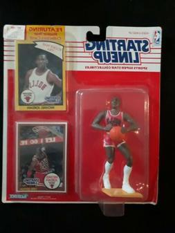 1990 MICHAEL JORDAN Chicago Bulls Kenner Starting Lineup HOF