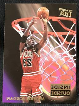 1993-94 Fleer Ultra Michael Jordan Inside Outside Insert Chi