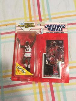 1993 Horace Grant Chicago Bulls Starting Lineup including 2