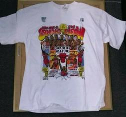 1993 Pro Player Salem CHICAGO BULLS Champions XL T-Shirt MIC