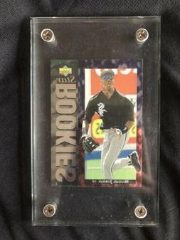 1994 Upper Deck Michael Jordan #19 Baseball Card W/Screwdown