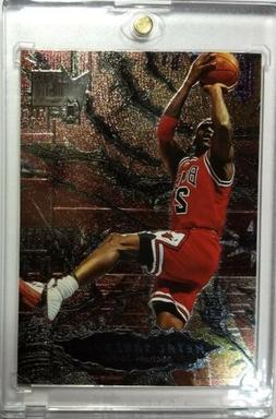 1996 96-97 Fleer Metal Shredders Michael Jordan #241, Sharp!