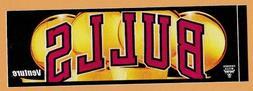 1996-97 CHICAGO BULLS TEAM ISSUE BUMPER STICKER DECAL 4 CHAM