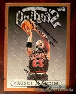 1996/97 TOPPS FINEST STERLING MICHAEL JORDAN BASE CARD #50 C
