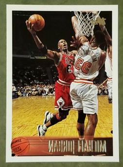 1996-97 TOPPS MICHAEL JORDAN BASE CARD #139 CHICAGO BULLS HO