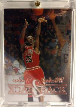 1998 98 TOPPS CHROME BACK 2 BACK Michael Jordan #B1, INSERT