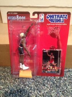 1998 Dennis Rodman #91 Starting Lineup With Card Mint Chicag
