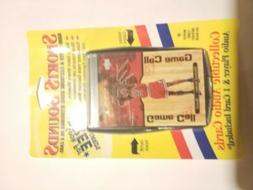 2000 Sports Sounds Electronic Sound Recorded Card! Michael J