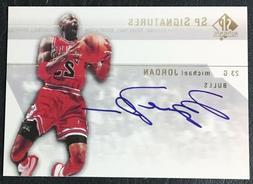 2003-04 UD SP Authentic Signatures Michael Jordan Facsimile