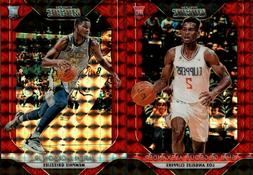 2018-19 PANINI PRIZM MOSAIC RED REFRACTOR SP w/ RC SINGLES -