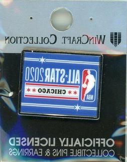 2020 NBA All-Star Game Pin Chicago, IL Bulls ASG Basketball