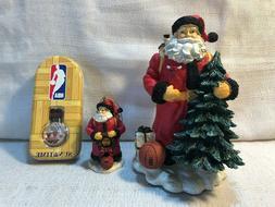 3 Chicago Bulls Basketball Memory Company NBA Santa Ornament