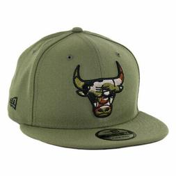 "New Era 9Fifty Chicago Bulls ""Camo Trim"" Snapback Hat  Men's"