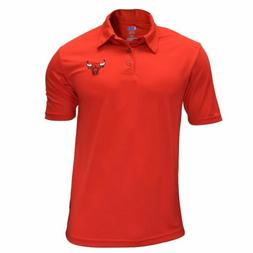 Authentic NBA Chicago Bulls TX3 Cool Blue Polo Shirt with Lo