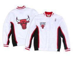 Authentic NBA Mitchell & Ness White Chicago Bulls Vintage wa