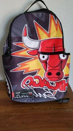 Sprayground backpack chicago bulls NBALAB