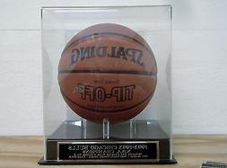 Basketball Display Case For Your 1992-1993 Chicago Bulls Aut
