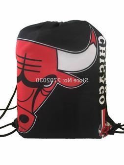 Basketball Team Drawstring Bags Men Sports Backpack Digital