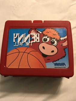 Benny the Bull Chicago Bulls Lunchbox
