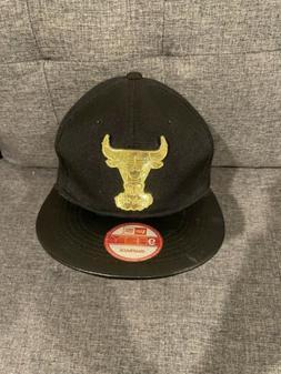 New Era Black Chicago Bulls 9Fifty Snapback Hat With Plastic