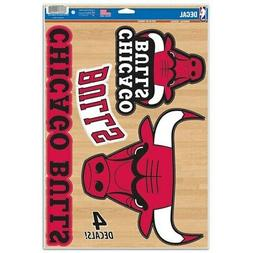 "WinCraft Chicago Bulls 11"" x 17"" Multi-Use Decal Sheet"