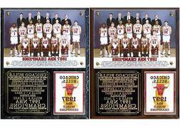 Chicago Bulls 1997 NBA Champions Photo Plaque Michael Jordan