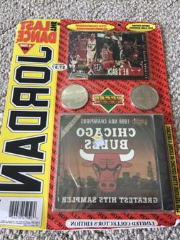 CHICAGO BULLS 1998 UPPER DECK THE LAST DANCE CARDS COINS & C
