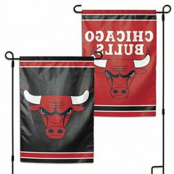 Chicago Bulls 2 Sided Double Sided Garden Flag OUTDOOR RATED