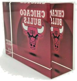 Chicago Bulls 2008 Paperweight Crystal Collectables Official