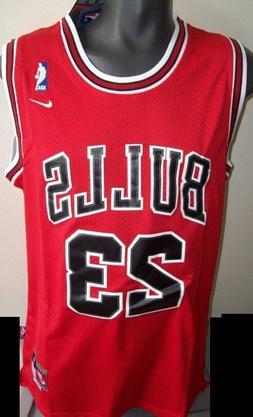 Chicago BULLS #23 JORDAN Swingman Jersey  RED, WHITE, BLACK
