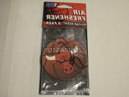 Chicago Bulls 3 Pack Air Freshener