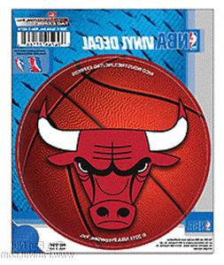 "Chicago Bulls 4"" Round Decal Bumper Sticker Emblem Basketbal"