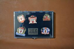 Chicago Bulls 5 Time NBA Champions 5 Pin Set Repeat-Limited