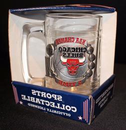 Chicago Bulls 5 Times NBA Champs 1997 Fine Pewter Emblem Spo