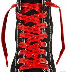 -  Chicago Bulls 54-Inch LaceUps Shoe Laces - Team Color