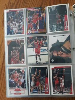 Chicago Bulls 90's era Nba basketball cards in sleeves. Drea