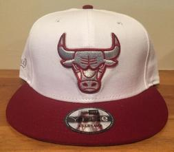 Chicago Bulls New Era 9Fifty Sneaker Woo Mens Hat Cap SnapBa