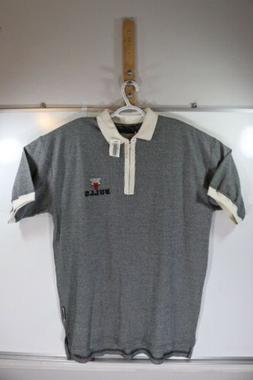 Chicago Bulls Active Polo Shirt Mens L Vintage 1990s