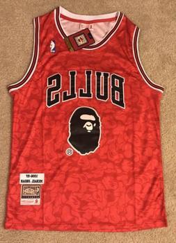 Chicago Bulls Bape Michael Jordan Jersey RARE Men's Medium
