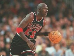 CHICAGO BULLS BASKETBALL GAME ARMBAND WRISTBAND NBA MICHAEL