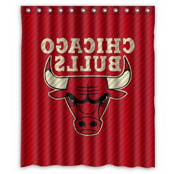 New Chicago Bulls NBA Basketball Team Waterproof Fabric Show