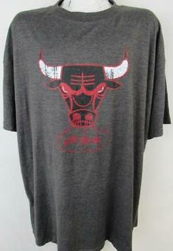 Chicago Bulls Big Mens Size 3XL Screened Windy City Graphic