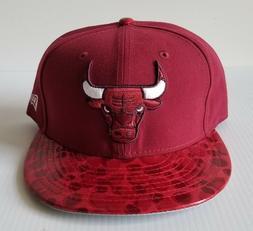 New Era Chicago Bulls Cardinal & Red 59Fifty Flat Bill 5950