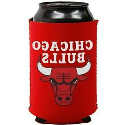 Chicago Bulls Collapsible Can Cooler - Red