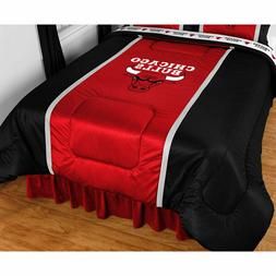 Chicago Bulls Comforter Sidelines Basketball Bedding Twin